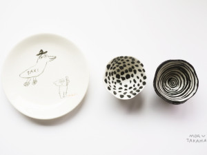 ceramic works by mogu takahashi