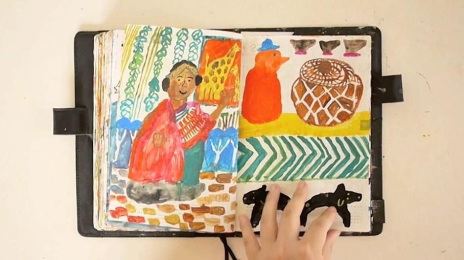 daily doodles 2014 by mogu takahashi