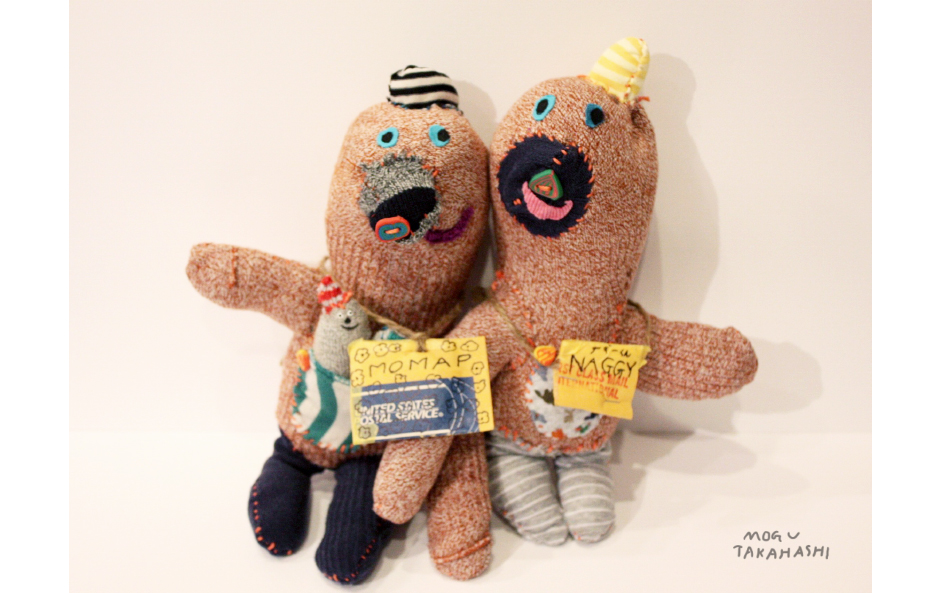 stuffed animals by mogu takahashi
