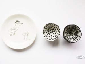 ceramic works by mogu takahashi