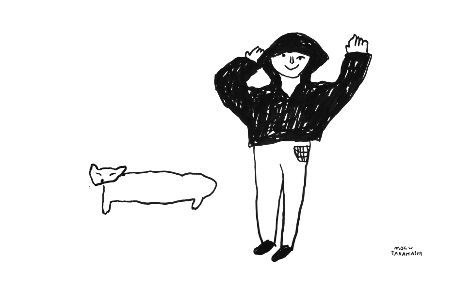 drawing by mogu takahashi