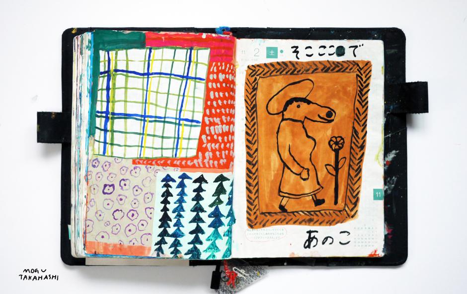 daily doodles 2013 by mogu takahashi